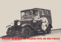 Viatura Assistência (ambulância) da Polícia do Estado de São Paulo, em 1.930.