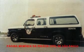 Viatura do GARRA do extinto DEPATRI, na década de 90. (Acervo de Antonio Carlos Passador e Investigador Santos Junior Adalberto).