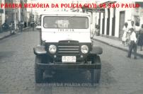 Viatura da Delegacia de Polícia do Município de Itararé/SP, na década de 50.