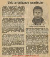 """Reportagem da Folha da Tarde de 1.980, sobre a prisão do """"ventanista"""" Guillarderli, que nos anos 80 praticou inúmeros furtos de grande monta nesta modalidade, pela equipe Apolo 70 da 4ª Delegacia da DISCCPAT do DEIC (Kilo), Investigador Chefe da Delegacia, Walter Lang, encarregado da equipe Paulo Roberto de Queiroz Motta (hoje Delegado Titular da Delegacia do Jardim Casqueiro- DEINTER 6), Arlindo Rodrigues """"Arrepiado"""", Wellington Vieira """"Mechinha, in memorian"""", Silvio Mariano """"Caroço"""" e Manoel """" Mané Azulejo"""". O Delegado Titular era o saudoso Jair Cesário da Silva."""