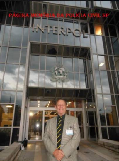 Delegado de Polícia (aposentado) George Henry George H Millard, participando de reunião sobre DNA, na INTERPOL- Lyon, France, em novembro de 2.013. — com George H Millard.