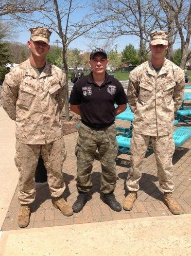 Investigador de Polícia Aurisio Junior Vieira Melo, da Seccional de Marília, em treinamento com Mariners- USA, em Nova Iorque, abril de 2.013.