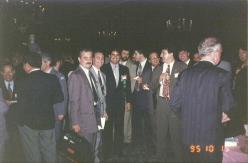 Congresso da International Association of Chiefs of Police - IACP, em Miami/Florida/EUA, 1995. Acervo do delegado Luiz Artacho.
