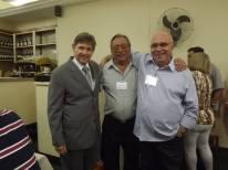 Delegado Marcio de Castro Nielson, Oscar Matsuo e Investigador Jonas.