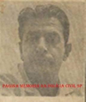 """Investigador de Polícia DI- DEIC, Angelino Moliterno, """"Russinho"""", nas décadas de 50, 60 e 70"""