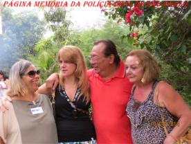 3º Encontro da Velha Guarda da Polícia Civil de São Paulo, ocorrido no 13 de abril de 2.014, no Recanto Pedro Cerignoni Bonamin, em Mairiporã/SP. Investigadores Nerei Buttes, Gislene, Oscar Matsuo e Maria Damas.