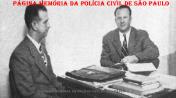 Delegado de Polícia Diretor do Policiamento da Rádio Patrulha Oswaldo Porchat, em reunião sobre a Estação de Rádio da Polícia Civil do Estado de São Paulo, com o representante da Companhia Telephonica Brasileira, em maio de 1.939.