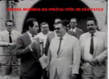 Em 18 de fevereiro de 1.965, o Delegado de Polícia Evair Freitas Garcia (ex Deputado), concedendo entrevista e inconformado com suspensão de 90 dias injustamente recebida do Secretário da Segurança Pública Cantídio Sampaio, tendo a seu lado colegas solidários.