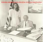 Delegacia Seccional de Jundiaí, no final da década de 80. Delegados Arnaldo Sprosser e Martha Rocha de Castro. https://www.facebook.com/MemoriaDaPoliciaCivilDoEstadoDeSaoPaulo/photos/a.657894647666443.1073741890.282332015222710/1109640539158516/?type=3&theater