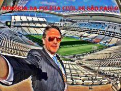 Delegado de Polícia Mauro Marcelo de Lima e Silva, atual Presidente do Tribunal de Justiça Desportiva de São Paulo (TJD/SP).