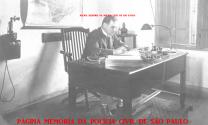 """Delegado de Polícia Armando Ferreira da Rosa, em 1.930 foi Secretario da Segurança Pública e prefeito de São Bernardo do Campo em 1939/1940. Nasceu em São Paulo, na Travessa do Paredão nº 4 (hoje rua Xavier de Toledo), no dia 08 de setembro de 1890, vindo a falecer na mesma cidade no dia 19 de dezembro de 1960. Tornou-se bacharel em Direito em 1916, pela Faculdade de Direito da Universidade de São Paulo, também conhecida como Faculdade de Direito do Largo de São Francisco ou ainda """"Faculdade das Arcadas"""" (em alusão a sua arquitetura). Após a sua formatura ingressou imediatamente na policia judiciária. Militou no """"Centro Acadêmico XI de Agosto"""" em 1912, fazendo parte de sua diretoria, ocupando o cargo de procurador, sendo reeleito para o mesmo cargo no ano seguinte. Antes de formado, já se dedicava à polícia judiciária, tendo ocupado o cargo de Suplente de Delegado na 4ª Circunscrição da Capital em Junho de 1914. Fez carreira policial como delegado nos mais diversos postos na Capital e no Interior, culminando sua carreira como Delegado Regional de Santos abrangendo também o Comando Geral da Policia Marítima que disciplinava não só a Imigração, como também a manutenção da ordem pública no maior porto da América Latina, o Porto de Santos. Em 27 de março de 1930 foi convidado pelo Governador do Estado de São Paulo, Júlio Prestes de Albuquerque, a ocupar o posto máximo da carreira policial, o de Secretário de Estado da Justiça da Segurança Pública do Estado de São Paulo."""