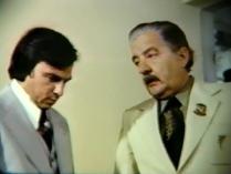 """Fragmentos do longa metragem policial """"O OUTRO LADO DO CRIME"""", de 1978, no qual foi protagonista o lendário repórter policial, GIL GOMES! Acervo: Marcelo Lessa."""