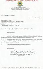 Posse do Diretor Geral da Agência Brasileira de Investigações- ABIN, Delegado de Polícia Mauro Marcelo de Lima e Silva, em 09 de agosto de 2.004.