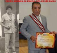 Investigador de Polícia Osvaldinho Santos na década de 70 na DISCCPAT- DEIC (Kilo) e atualmente.