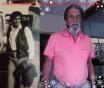 """Agente Policial Silas Nicoletti, na Divisão de Crimes Contra o Patrimônio do DEIC """"Kilo"""", na década de 70 e atualmente."""