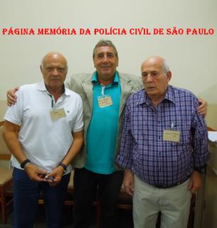 Delegados de Polícia Djhay Tucci Junior, Paulo Roberto De Queiroz Motta e Manoel Adamuz Neto.