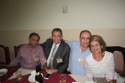 Desembargador do TJ Miguel Marques Silva; Delegados Célio, Marcelo Damas e Cidinha Gobbetti