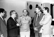 Delegados de Polícia da região de Assis na década de 80. O segundo da esquerda para a direita Alvaro Franco Luz (ex- DGP) e o terceiro Wilson Viegas (ex- Grupo Anti Sequestro).