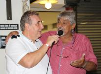 Delegado Paulo R Queiroz Motta e João Grandão.