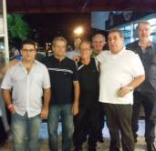 """Waldemar Pisca, Mario de Queiroz Motta, Robert Roberto San Martin Alfaya """"Fila"""", Paulo R Queiroz Motta e Mario Marião Gonçalves."""