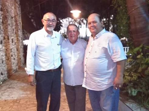 Investigadores Hugo Hira e Javali.