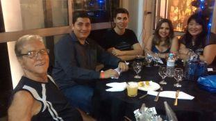 Mário de Queiroz Motta, Mario Neto, Paulo Roberto de Queiroz Filho, Pamela Quirino e Márcia Kazue Hatada de Queiroz Motta.