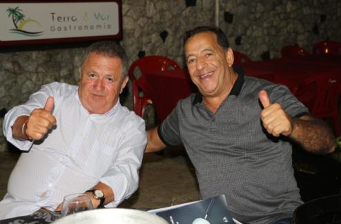 Investigador Ivo Zarlenga e Delegado Luiz Ruas de Abreu.