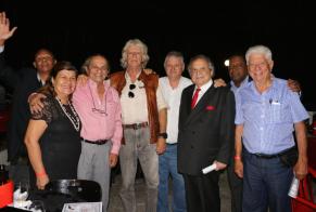 Ronaldo Mizuno, Doana Inés Gravina, Dirceu Gravina, Rambo, Luiz Melchiades Piacentini, Pegolaro, Dermeval Campos e Carteira Preta.