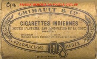 """Antiga propaganda de """"Maconha"""" para uso medicinal, veiculado no Brasil, no começo do Século XX."""
