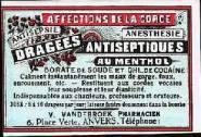 """INCRÍVEL PROPAGANDA DE TABLETE DE COCAÍNA, início do século XX: Estes tabletes de cocaína eram """"indispensáveis para cantores, professores e oradores"""". Eles também aquietavam dor de garganta e davam um efeito """"animador"""" para que estes profissionais atingissem o máximo de sua performance. A droga que mais tarde se tornou o flagelo do Século XX."""