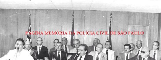 Palestra do Estadista Fernando Henrique Cardoso no Conselho da Polícia Civil, em 1.982.