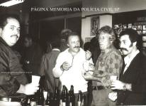 """Investigadores de Polícia da DIG- DEIC, em 1.977, Nogueira """"in memorian"""", Gilberto Rangel, Nelson Rossato e Claudio Hilário de Souza """"Claudinho Português"""". https://www.facebook.com/MemoriaDaPoliciaCivilDoEstadoDeSaoPaulo/photos/a.1013664612089443.1073741897.282332015222710/402402809882296/?type=3&theater"""