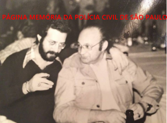 """Investigadores da DIG- DEIC, Sebastião Pareira e,Jacob Magidman """"in memoriam"""" em 1978. https://www.facebook.com/MemoriaDaPoliciaCivilDoEstadoDeSaoPaulo/photos/a.1013664612089443.1073741897.282332015222710/1353909331398301/?type=3&theater"""
