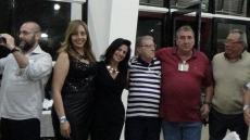 Dr Nelson de Queiroz Motta, Sandra Bento, Léa Trindade Motta, Sr Mário de Queiroz Motta, Dr Paulo R Queiroz Motta e Oscar Matsuo.