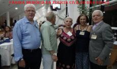"""Dr Ulisses Pascolato """"Pena"""", Robertinho, Valeria Breves, Lilian Berzin e Edevaldo """"Ceará""""."""