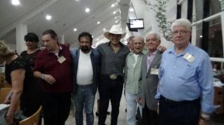 """Dr Célio; Dupla Sertaneja Duduca e Dalvan, Robertinho, Edevaldo """"Ceará"""" e Dr Ulisses Pascolato """"Pena""""."""