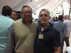 Matsuo e Walter Mattos