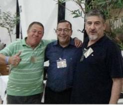 Ivo, Dr Luiz Ruas de Abreu e Cyrano Filho