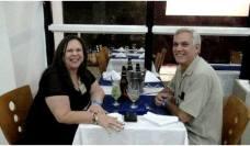 Edson Alves e esposa