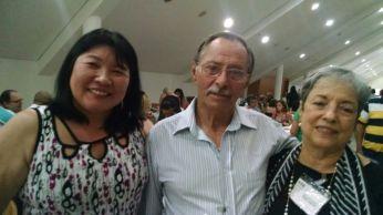 Márcia Kazue, Aroldo Rocha e Suely Correa