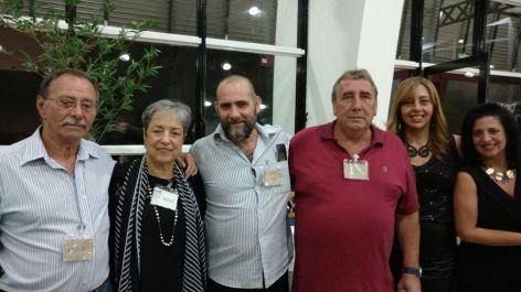 Aroldo Rocha, Suely Correa, Nelson de Queiroz Motta, Paulo Roberto de Queiroz Motta., Sandra Bento e Léa Trindade Motta.
