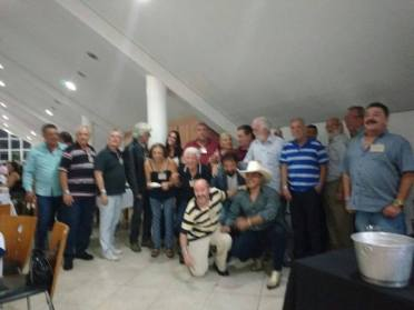 Sueli, Aroldo, Nicolau e Ceará